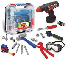 Kids Tool Set Electronic Cordless Drill Pretend Play Boy Gift Toy Toddler New