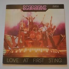 SCORPIONS - LOVE AT FIRST STING - LP GERMANY EAST REPUBLIC