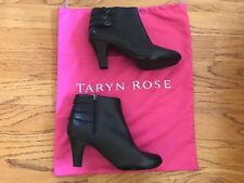 Taryn Rose 9 1/2 black Boots So cute with buckles NEW with bag no box or tags