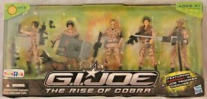 New 2009 Hasbro GI Joe The Rise of Cobra TRU Exclusive 5 Pack 1 Of 2 Deluxe Set