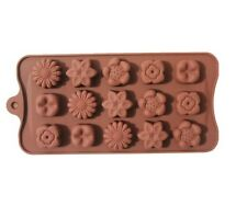 flower silicone chocolate mold ice tray molds DIY baking tins mould sunflower