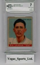 JOHN WELCH  RC  1933 GOUDEY  #93,  BECKETT GRADED 7,  (BCCG) NICE