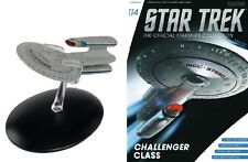 STAR TREK Official Starships Magazine #114 USS Buran, Challenger Class Eaglemoss