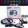 5m 300 LED 5050 SMD RGB Tira De Luz Iluminación Bombillas +Remoto +12V Adaptador