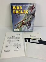 Vintage IBM PC/Tandy Video Game - WAR EAGLES WWI Aerial Combat Simulator Cosmi