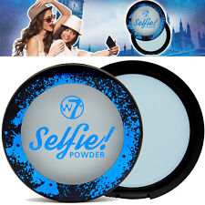 W7 Cosmetics - Selfie Pressed Compact Face Powder With a Hint of Blue MakeUP
