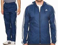 Adidas Men's Woven Matched Set - jacket & pants - Navy/White - size XL