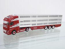 "Herpa 306201 1:87 Volvo FH Gl. XL Viehtransporter-Sattelzug ""Vaex"" (NL) NEU"