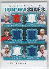 13-14 Artifacts Tundra Sixes Jersey Blue Henrique/Kassian/Landeskog/Zibanejad ++