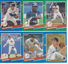 1991 Donruss New York Yankees Team Set