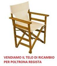 Tessuto Per Sedie Da Giardino.Telo Ricambio Sedia Regista A Sedie Da Esterno Acquisti Online