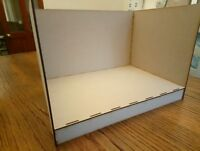 0 / 00 / 009 / N Gauge Display Box Baseboard Diorama Laser Cut MDF Layout Small