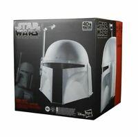 HASBRO Star Wars Boba Fett Prototype Armor Electronic Helmet Black Series