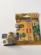 LEGO 71001 Series 10 Grandpa Minifigure Newspaper & Mug Complete