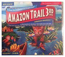 Amazon Trail 3rd Edition (Win/Mac, 1999) BRAND NEW SEALED -NICE -WIN10, 8, 7, XP