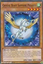 Crystal Beast Sapphire Pegasus - LED2-EN042 - Common 1st Edition YuGiOh Cards