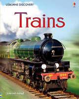 (Good)-Trains (Usborne Discovery) (Hardcover)-Stephanie Turnball-0746096461
