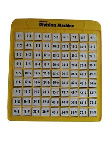 Lakeshore Division Machine Push Button Learning Aid Math Home School Classroom