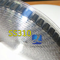 50PCS Schottky Barrier diode SS310 SR3100 3A 100V SMD Package DO-214AC(SMA)#O206