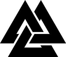 Valknut Norse Mythology Odin Symbol of Odin Decal Car Window Sticker