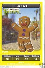 Carte Carrefour Dreamworks n° 24/216 - Tit Biscuit - Série SHREK (A3436)