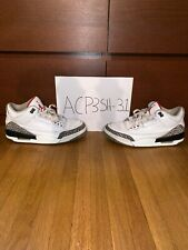 detailed pictures 474e2 4f2f9 Air Jordan 3 Retro White Cement - Size 9 - 2011 Release