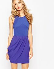 BNWT Finder Keepers Size XS Story In Time Dress Blue Draped Party Gigi Kendall