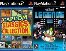 Capcom Classics Collection (No manual) y Taito Legends 2 PAL PS2