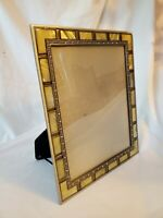 Antique Style Picture Frame with Mother of Pearl and Jewels 8x10 QUALITY