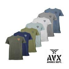 Maglia T-shirt Uomo AVIREX DEPT. AX0178 Mezze Maniche con Stampa