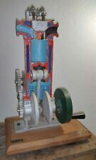 VNTG. ENGINE CYLINDER MODEL EDUCATION MECHANICAL SCHOOL EQUIPMENT SCIENNCE LAB.