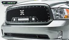 T-REX Torch Series LED Light Grille 2013-2016 Dodge Ram 1500 6314581 Black