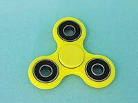 Fidget Spinner Gelb Ninja Finger Hand Kreisel ADHS  EDC Anti Stress Spinnerz
