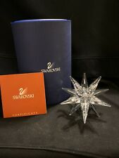 Swarovski Candleholder 143M Star Brand New In Box W/Coa