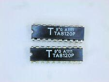 "TA8120P  ""Original"" Toshiba  20P DIP IC  2  pcs"