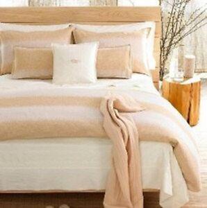 Hotel Collection Haven Desert Gold Tan Full/Queen Duvet Comforter Cover Set