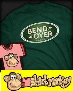 Bend over - Land Rover Funny Tshirt - Ladies / Gents XS - XXL Many Colours