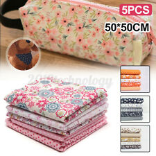Fat Quarters Quilting Fabric 5 Bundles for Diy Patchwork Sewing Floral Cotton √