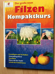 Der große neue Filzen Kompaktkurs / Das Buch zum Filzen lernen