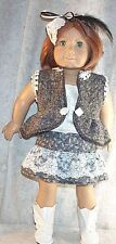 "Doll Clothes Made 2 Fit American Girl 18"" inch Steam Punk Ensemble 4 pcs"