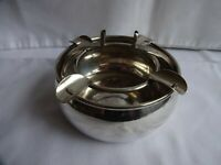 "VINTAGE SILVER PLATED EPNS A 1 ASHTRAY HEIGHT 3"" DIAMETER 4.5"" A BROS.SHEFFIELD"