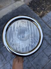 2 Original Early FORD Model T Headlight Lamp Bucket Glass Assembly Restored