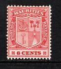 Mauritius 1910 (Wmk Multi CA) 6c. Pale Red SG186a LM/Mint
