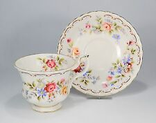 "Royal Albert ""Jubilee Rose"" Kaffeetasse & Untertasse"