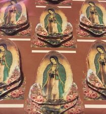 Lady of Guadalupe 2D Stickers - 1 Box, Baptism,Communion Favors 144/pk