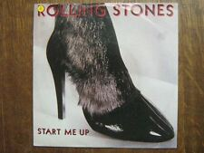 ROLLING STONES 45 TOURS GERMANY START ME UP