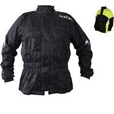 Richa Rain Warrior Textile Motorcycle Jacket Waterproof Motorbike Polyester Coat