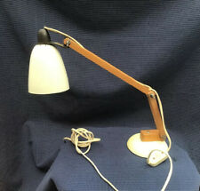 Vintage White Terence Conran Habitat MacLamp -wooden Arms