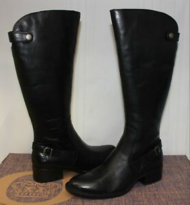 Born Women's Cupra Black Full Grain leather boots New With Box!
