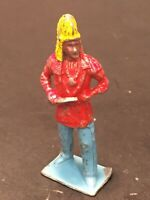 Vintage Lead Toy Indian, Crawling Metal Cowboys & Indians England